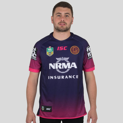 Brisbane Replica Rugby Shirt Mens
