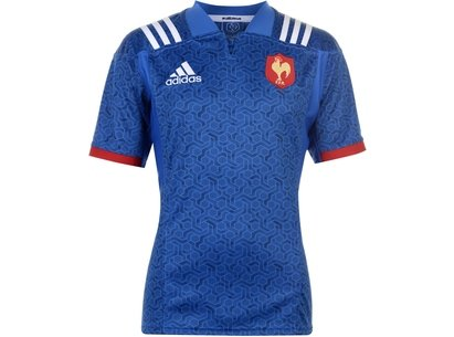 adidas France Home Rugby Jersey Mens