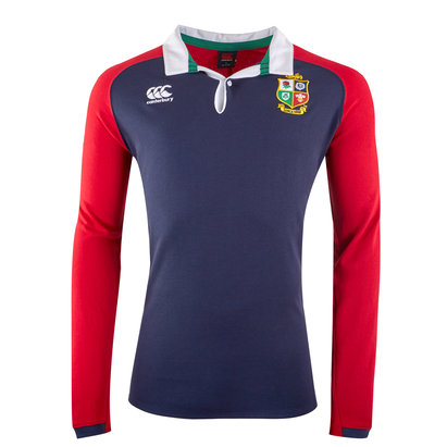 Canterbury B&I Lions Supporters L/S Cotton Jersey Mens