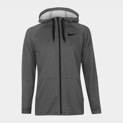 Nike Dri FIT Mens Full Zip Training Hoodie