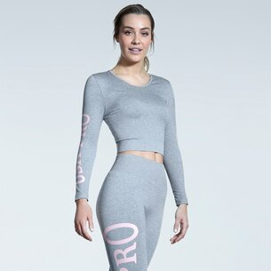 USA Pro Branded Crop Top