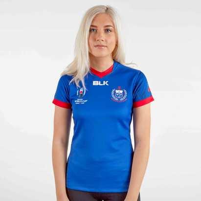 BLK Samoa RWC 2019 Home S/S Ladies Replica Shirt