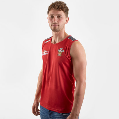 VX3 Help for Heroes Wales 2019/20 Rugby Vest