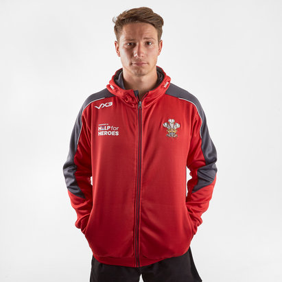 VX3 Help for Heroes Wales 2019/20 FZ Hooded Rugby Sweat