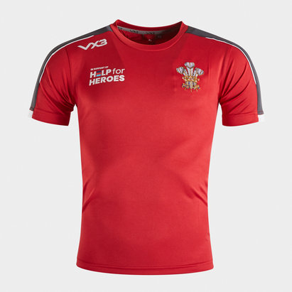VX3 Help for Heroes Wales 2019/20 Kids Rugby T-Shirt