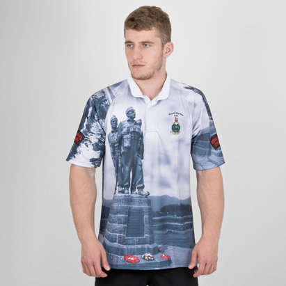 Kitworld Royal Marines Falklands Limited Edition Charity Replica Rugby Shirt