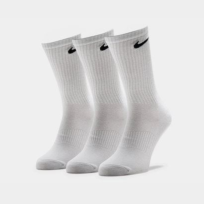 Nike 3 Pack Lightweight Cotton Crew Socks