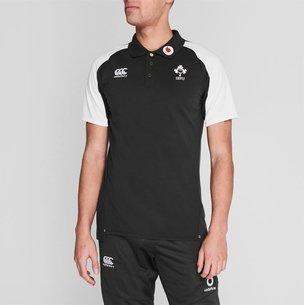 Canterbury Ireland Rugby Polo Shirt Mens
