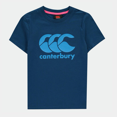 Canterbury Logo T Shirt Junior Boys