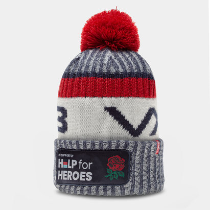 VX3 England Help for Heroes Bobble Hat