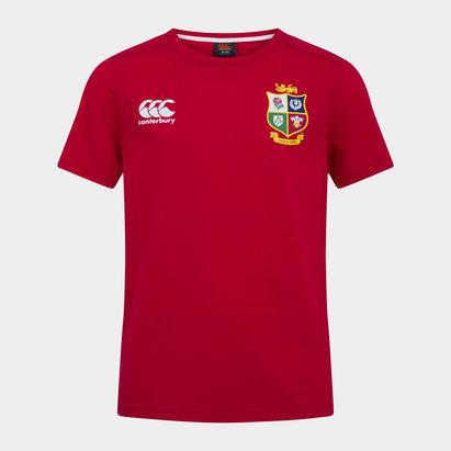 Canterbury British and Irish Lions Cotton T-Shirt Juniors
