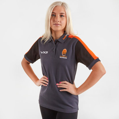 VX3 Worcester Warriors 2019/20 Ladies Rugby Polo Shirt
