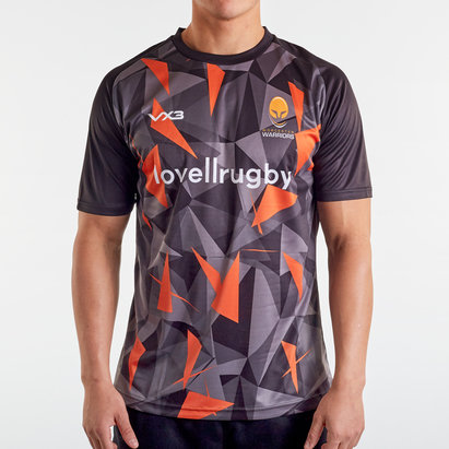 VX3 Worcester Warriors 2019/20 Warm Up Rugby T-Shirt