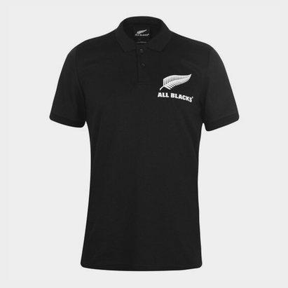 adidas All Blacks Support Polo Shirt Mens
