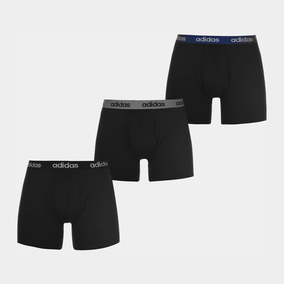 adidas Mens Essentials Climalite Brief 3 Pack