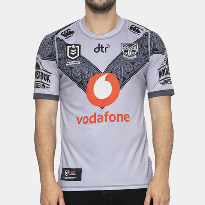 Canterbury New Zealand Warriors NRL 2020 Te Mangopare Alternate Shirt