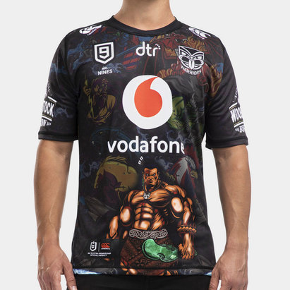 Canterbury New Zealand Warriors NRL 2020 Nines Shirt