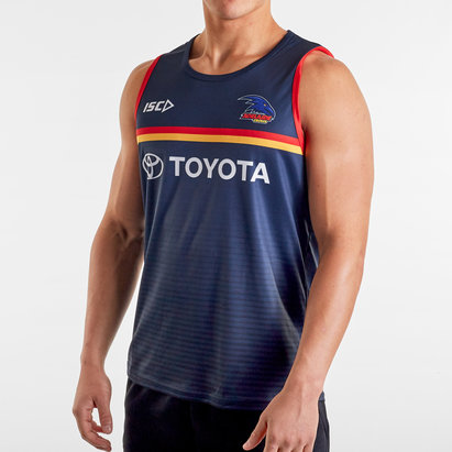 ISC Adelaide Crows 2020 AFL Players Training Singlet