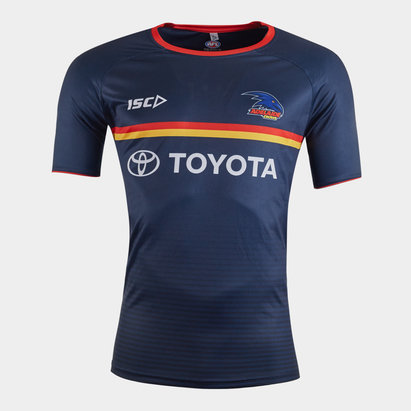 ISC Adelaide Crows 2020 AFL Players Training T-Shirt