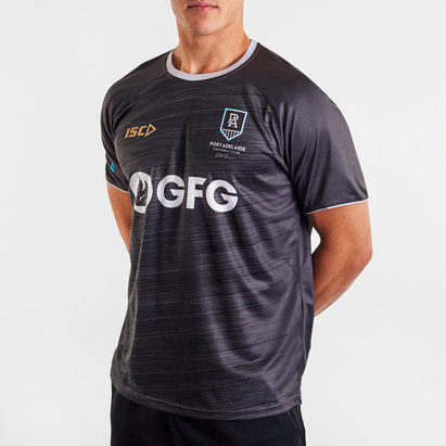 ISC Port Adelaide Power 2020 AFL Players Training T-Shirt