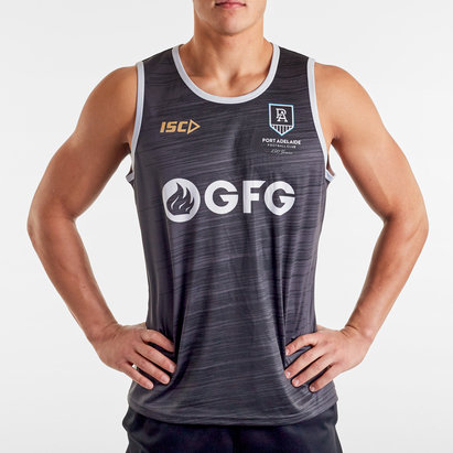 ISC Port Adelaide Power 2020 AFL Players Training Singlet