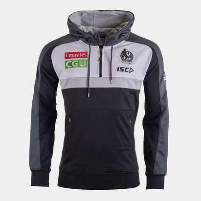 ISC Collingwood Magpies 2020 AFL Hooded Sweat