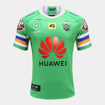 ISC Canberra Raiders NRL 2020 Home S/S Rugby Shirt