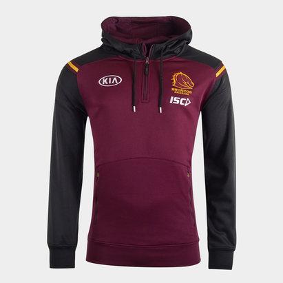 ISC Brisbane Broncos NRL 2020 Hooded Rugby Sweat