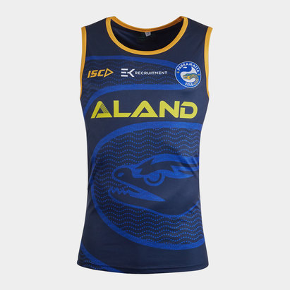 ISC Parramatta Eels NRL 2020 Players Rugby Training Singlet