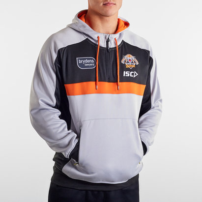 ISC Wests Tigers NRL 2020 Hooded Rugby Sweat