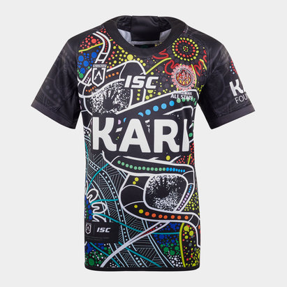 ISC Indigenous All Stars 2020 NRL Kids S/S Rugby Shirt