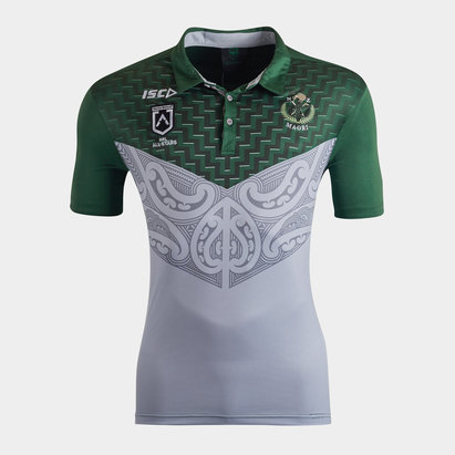 ISC New Zealand Maori All Stars 2020 NRL Players Rugby Polo Shirt