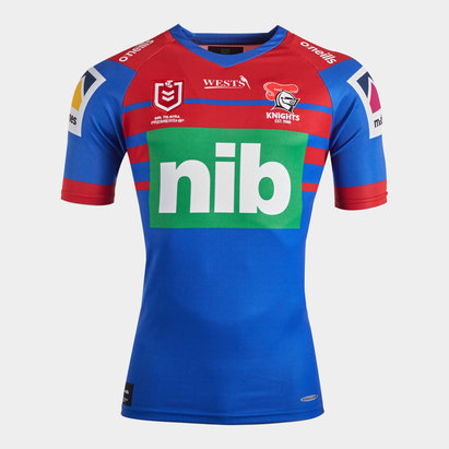 O'Neills Newcastle Knights 2020 NRL Home S/S Rugby Shirt