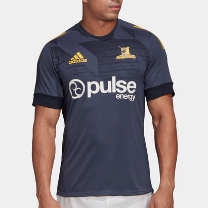 adidas Highlanders 2020 Super Rugby Training T-Shirt - DUPLICATE