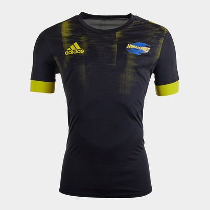 adidas Hurricanes 2020 Super Rugby Training T-Shirt