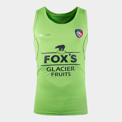 Kukri Leicester Tigers 2019/20 Players Rugby Training Singlet