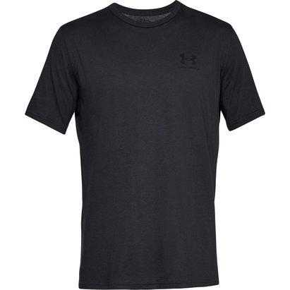 Left Chest Logo Short Sleeve T Shirt Mens