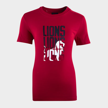 Canterbury British and Irish Lions T Shirt Junior