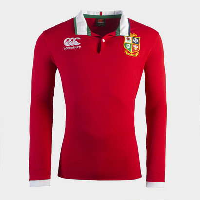 Canterbury British and Irish Lions Long Sleeve Classic Shirt 2021