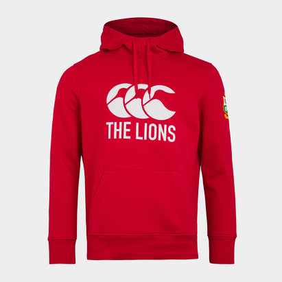 Canterbury British and Irish Lions Logo Hoodie Mens