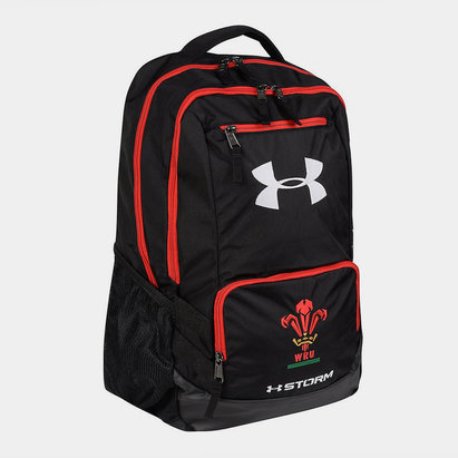 1d3dcb6c2b74 Under Armour Wales WRU 2018 19 Players Hustle Rugby Backpack