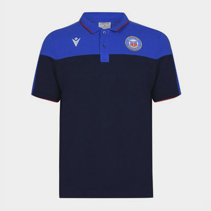 Macron Bath 20/21 Off Field Polo Shirt Mens