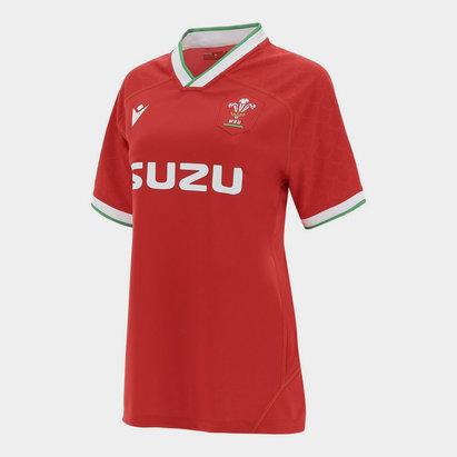 Macron Wales Home Shirt 2020 2021 Ladies