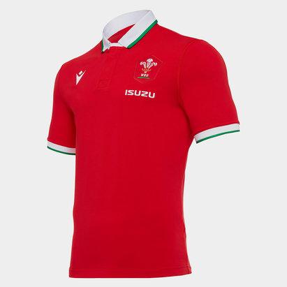 Macron Wales Home Classic Shirt 2020 2021