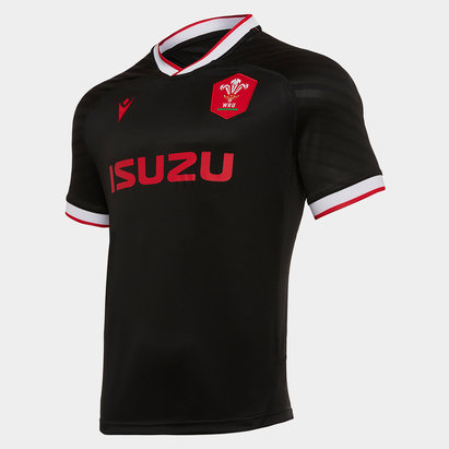 Macron Wales Alternate Shirt 2020 2021