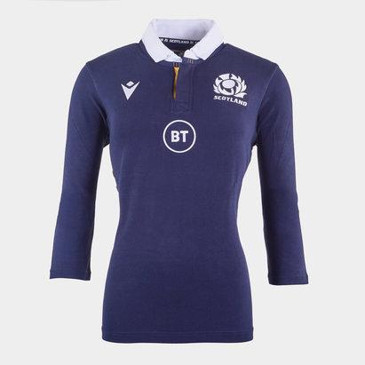 Macron Scotland Classic Home Shirt 2020 2021 Ladies