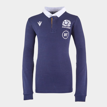 Macron Scotland Home Classic Shirt 2020 2021 Junior