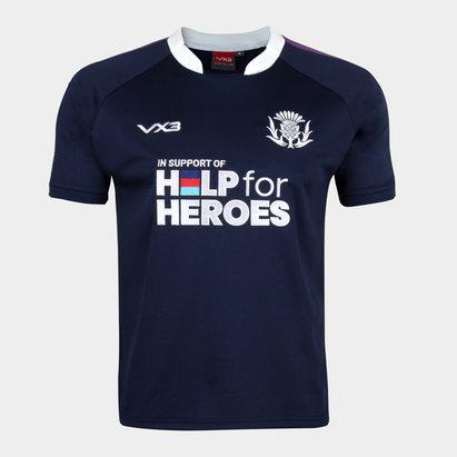VX-3 Help 4 Heroes Scotland Short Sleeve Jersey Mens