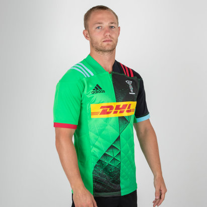 adidas Harlequins 2019/20 Alternate S/S Replica Shirt