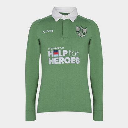 VX-3 Help 4 Heroes Ireland Long Sleeve Jersey Mens